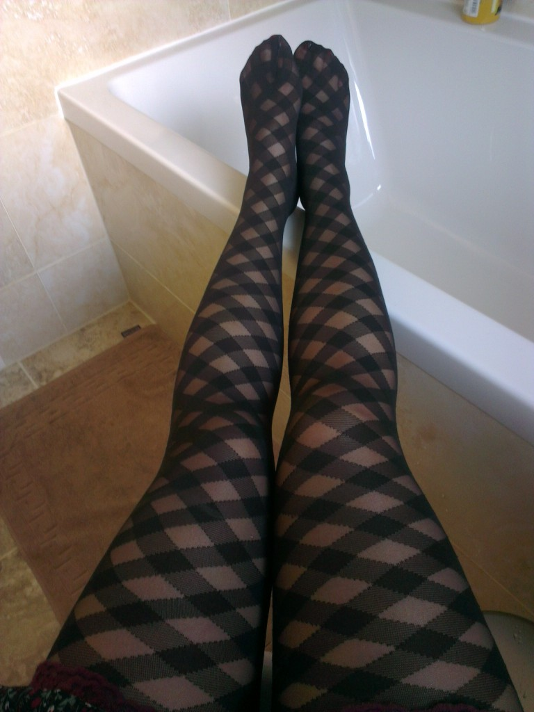 Wolford Kate Black Tights