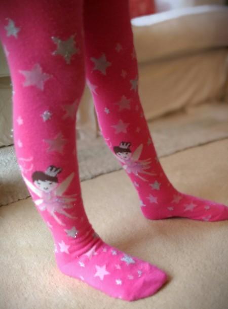 Primark Pink Princess Tights