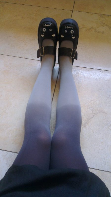 Grey- Black ombre