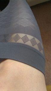 Burlington argyle waistband