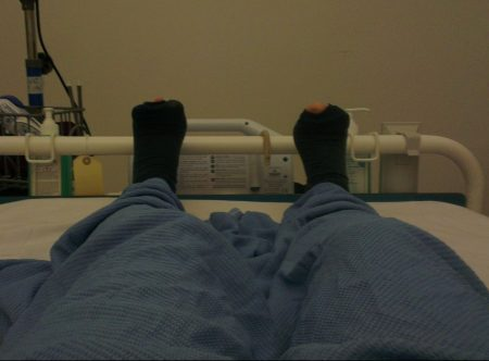 Picture from a Hospital Bed
