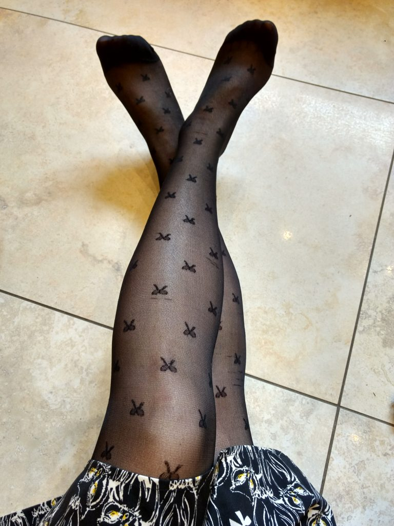 Tights in August?!